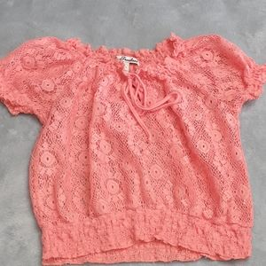 ❤ 5 for $25 ❤ True Freedom Youth Lace Shirt